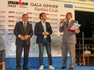 2° IRONMAN Gala Dinner - Fantini Club Cervia - 21 settembre 2018 - Sindaco Luca Coffari e Assessore Gianni Grandu