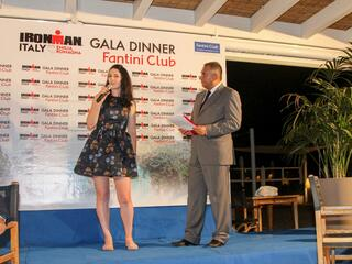 2° IRONMAN Gala Dinner - Fantini Club Cervia - 21 settembre 2018 - Head of Marketing IRONMAN EMEA Peta Bell