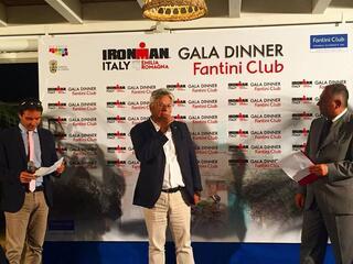 2° IRONMAN Gala Dinner - Fantini Club Cervia - 21 settembre 2018 - Presidente FITRI Luigi Bianchi