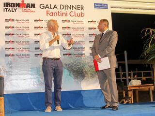 2° IRONMAN Gala Dinner - Fantini Club Cervia - 21 settembre 2018 - Presidente Enervit Alberto Sorbini