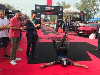 2° IRONMAN Italy Emilia Romagna Long Distance - Fantini Club Cervia - 22 settembre 2018 - Alex Zanardi 3