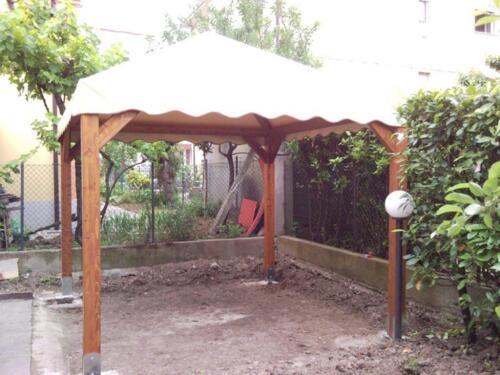 Gazebo in legno Rimini: realizzazione e montaggio gazebi