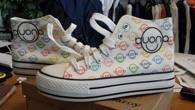 Stampa Diretta su scarpe