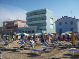 Hotel Acquamarina direttamente sul mare.