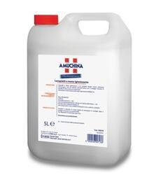 DETERSIVO PER PIATTI IGIENIZZANTE  Lavapiatti a Mano Igienizzante è un prodotto liquido neutro, schiumogeno, ricco di sostanze dermoprotettive per il lavaggio manuale di stoviglie. E' attivo anche con acque dure. Il formulato è a base del principio attivo igienizzante 4,4' dicloro 2 - hydroxydiphenyl ether.