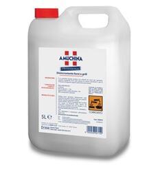 DISINCROSTANTE FORNI E GRILL  E' un prodotto liquido alcalino con solventi da usarsi per sgrassare superfici metalliche, forni, grill, piastre di cottura, pavimenti e per la rimozione di depositi organici particolarmente tenaci.