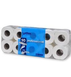 Professional Blue  Codice 10060 Cellulosa 100% Veli: 2 n° strappi: 200 Qt. collo: 120 rotoli 12 conf. da 10 rotoli Pallet: 21 colli