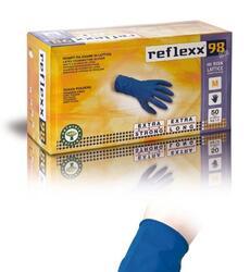 Vasto assortimento di guanti in gomma , vinile ,nitrile, lattice, lattice ultra pesante ad alta resistenza , idonei a contatto con alimenti.