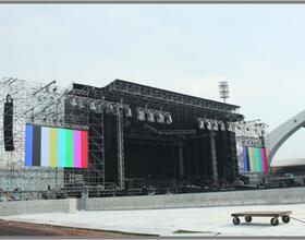 METALLICA Udine 2012  Produzione / site management per LIVE NATION ITALIA