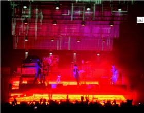 SUBSONICA tour Nov/Dic 2014 Produzione tecnica per VIVO CONCERTI