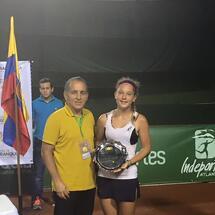 MV Viviani finalista alla copa de Baranquilla 2016 ITF G1