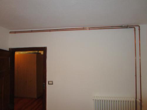 Vcr vcr t collare leggero in rame vorpa for Isolamento per tubi di riscaldamento in rame