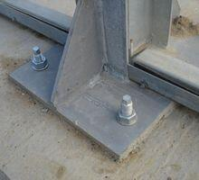 Fissaggio di pilastri