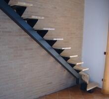 Fissaggio di scale e ringhiere