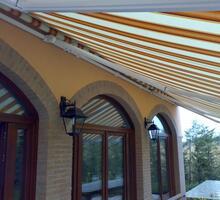 fissaggio di tende da sole