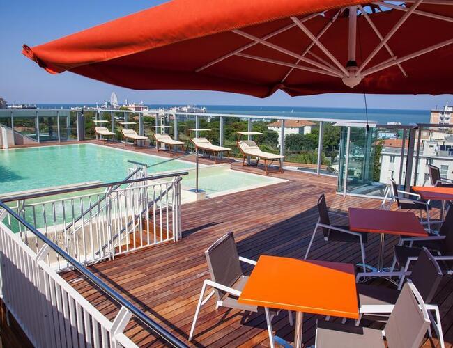 Hotel aria rimini marina centro quattro stelle hotel rimini marina centro promozione - Hotel nuovo giardino rimini ...