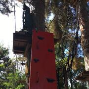parete d'arrampicata d'accesso