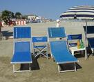 Ombrelloni,Lettini, Sedie, Sdrai, nella nostra spiaggia privata