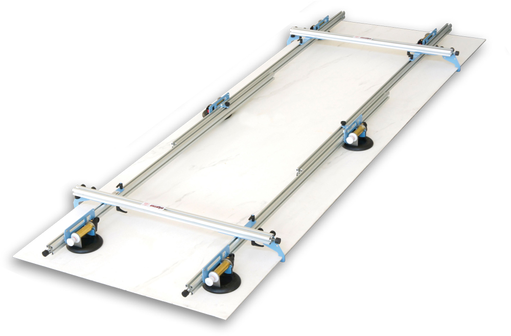 Sollevatore per piastrelle 340 x 100 cm kera lift 1b3 - Ventose per piastrelle ...