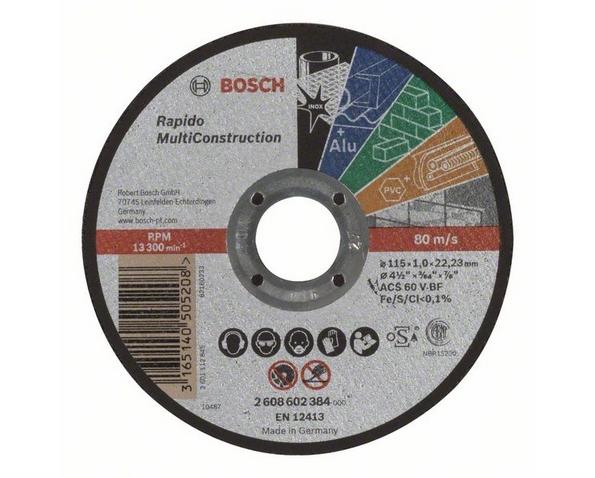 Disco da taglio multimateriale per smerigliatrice mm multi
