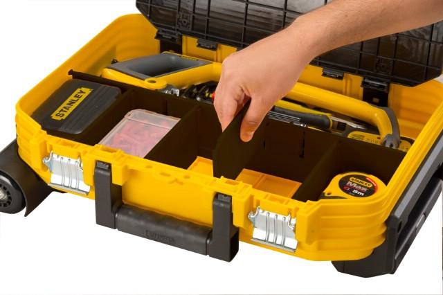 Valigia porta utensili trolley fmst1 72383 fatmax stanley - Cassetta porta attrezzi stanley con ruote ...