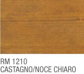 Impregnante all\'acqua per legno 750 ml. RM1210 CASTAGNO-NOCE CHIARO RIO  VERDE RENNER