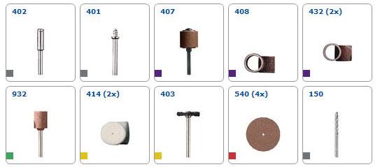 Minitrapano dremel 3000jc (3000-15) 15 accessori + astuccio f0133000jc  dremel   Toolshop.it