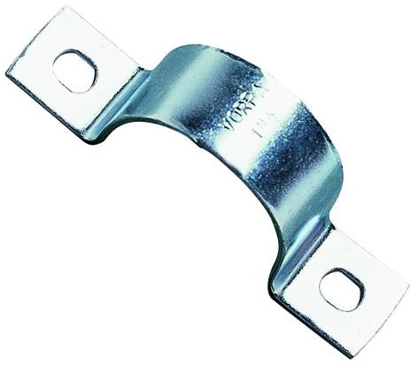 """Staffa pesante zincata per tubi SFT2 1 1/2"""" 356 VORPA  tasselli e collari per fissaggi ..."""