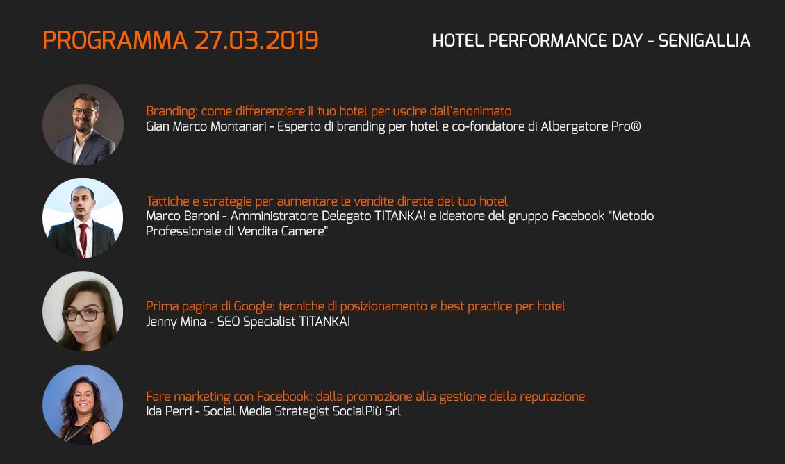 programma hotel performance day