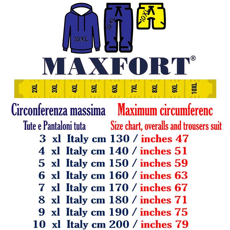 Maxfort Suit plus size man arena black  40efebb894e