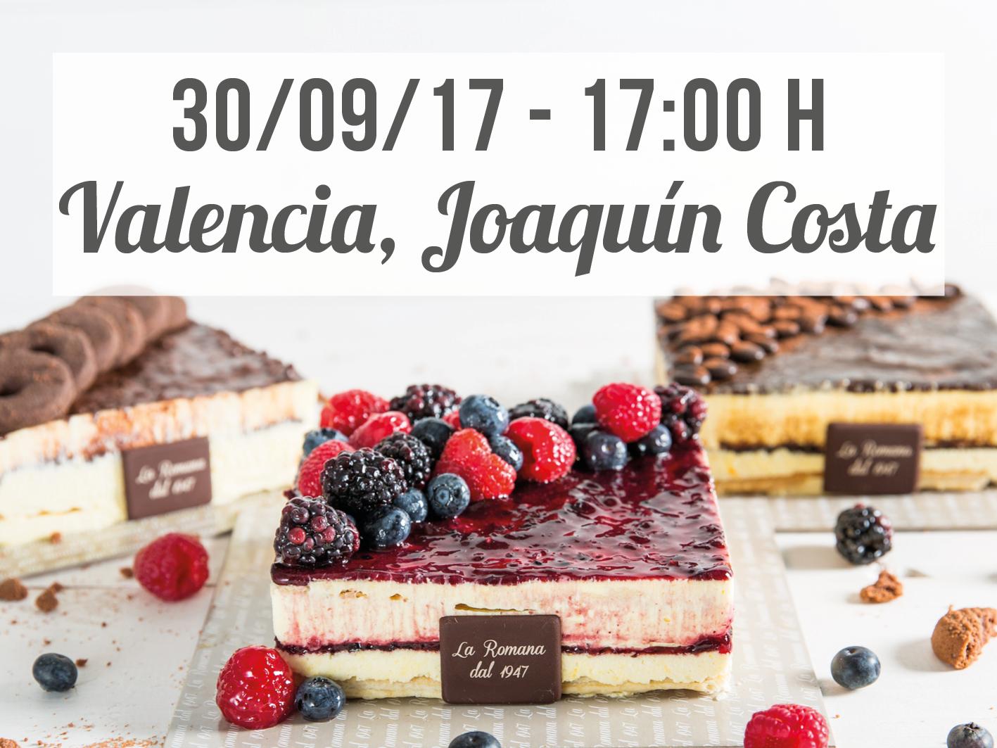 Valencia Calle Joaquín Costa Bakery Inauguration
