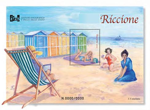 Riccione Mercatino mostra scambio filatelica e numismatica e 68° Convegno Filatelico Numismatico agosto