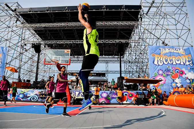 streetball italian tour FISB finals a riccione basket