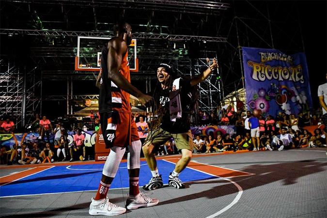 FISB streetball italian tour riccione 3 vs 3 3x3 street basket