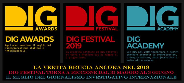 DIG festival awards 2019 Riccione ponte del 2 giugno offerte last minute weekend
