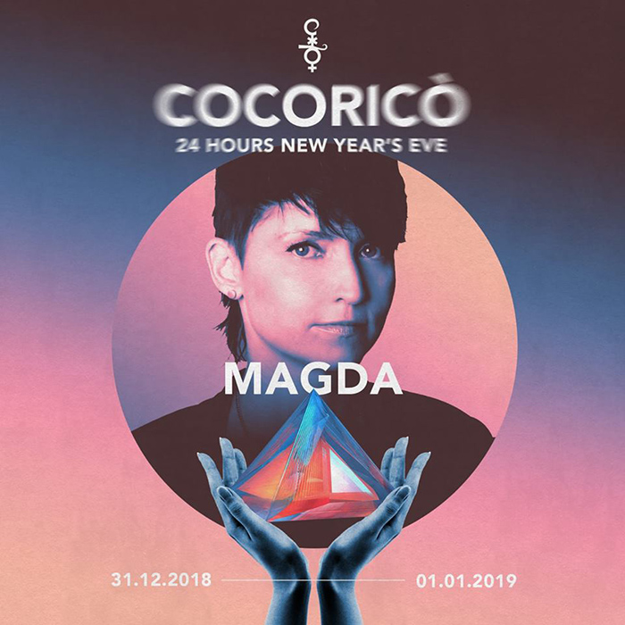 Magda Cocoricò NYE 2019 24 Hours Party Capodanno al Cocoricò New Year's Eve 2019