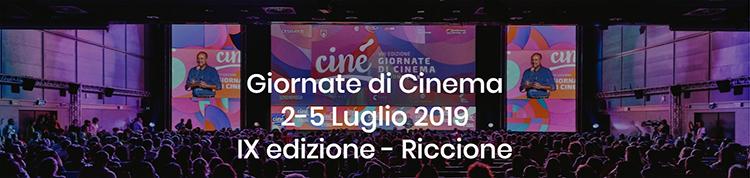 riccione - ciné le giornate del cinema 2-5luglio 2019