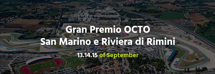 MotoGP San Marino und Riviera di Rimini 2019 September Misano