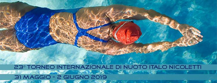 Riccione trofeo nuoto internazionale Italo Nicoletti maggio giugno last minute