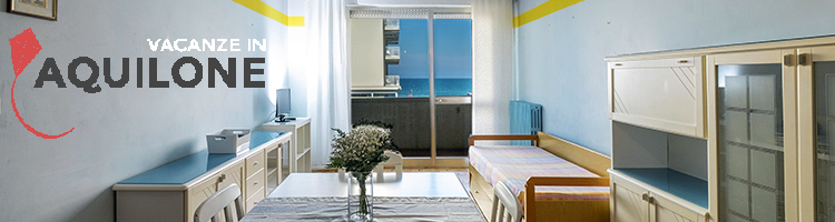Easter holidays in Riccione last minute offers 7-bed holiday apartment facing the sea