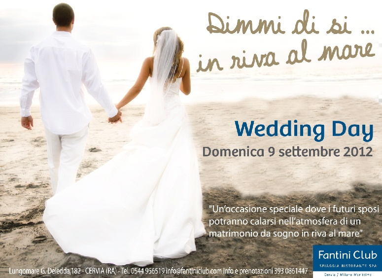 afad8abc3248 WEDDING DAY DIMMI DI SI … IN RIVA AL MARE! - Hotel Plaza Milano ...