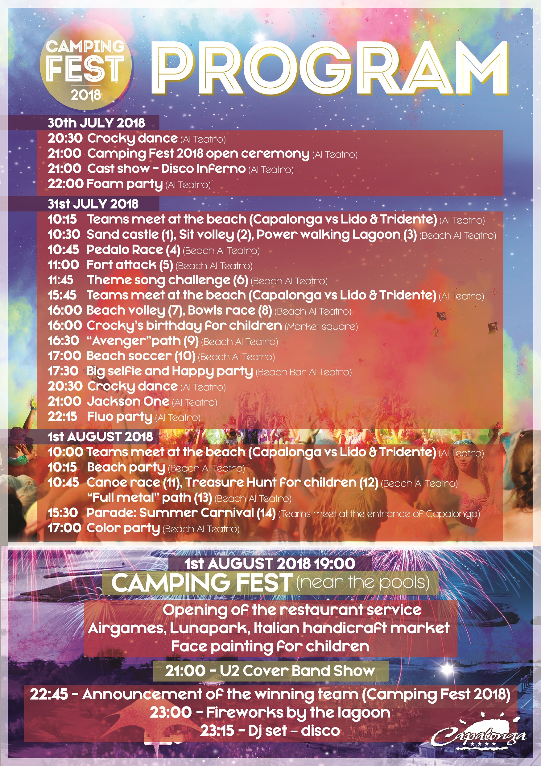 CAMPING FEST 2018!