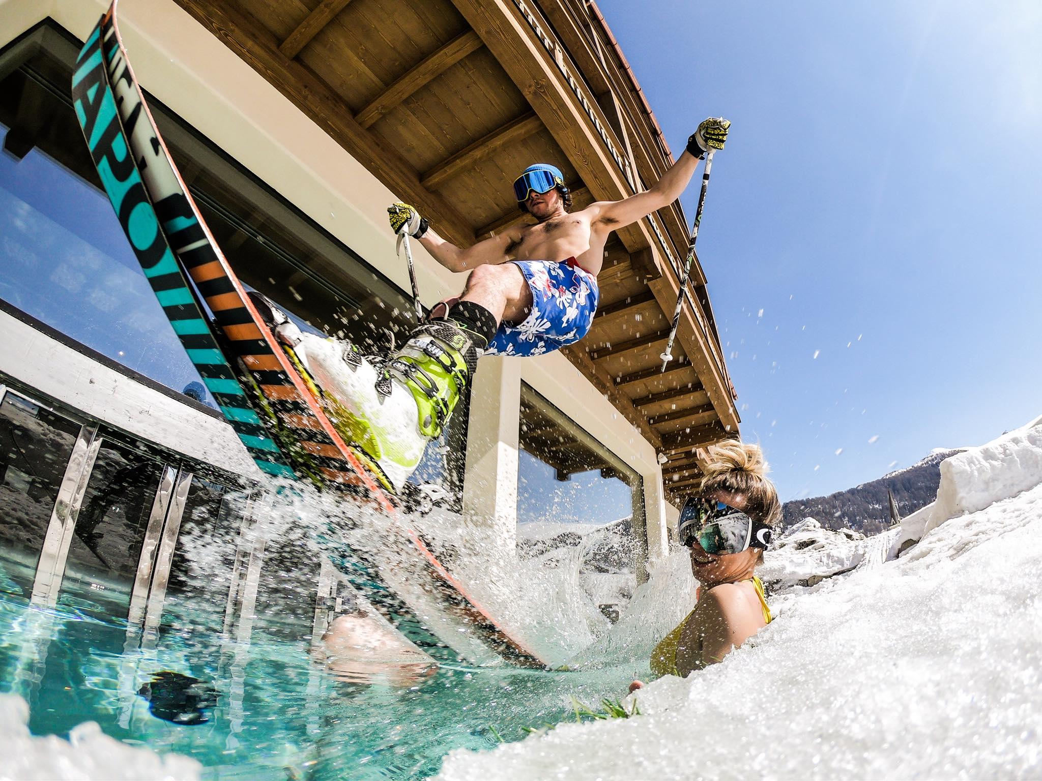 Livigno hotel con piscina