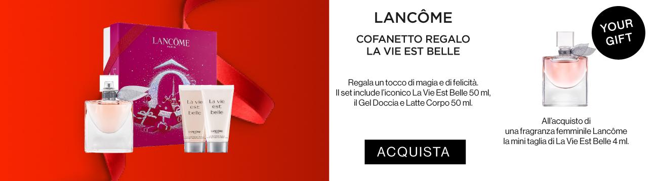 Lancome Cofanetto di Natale - compra online su Sabbioni.it