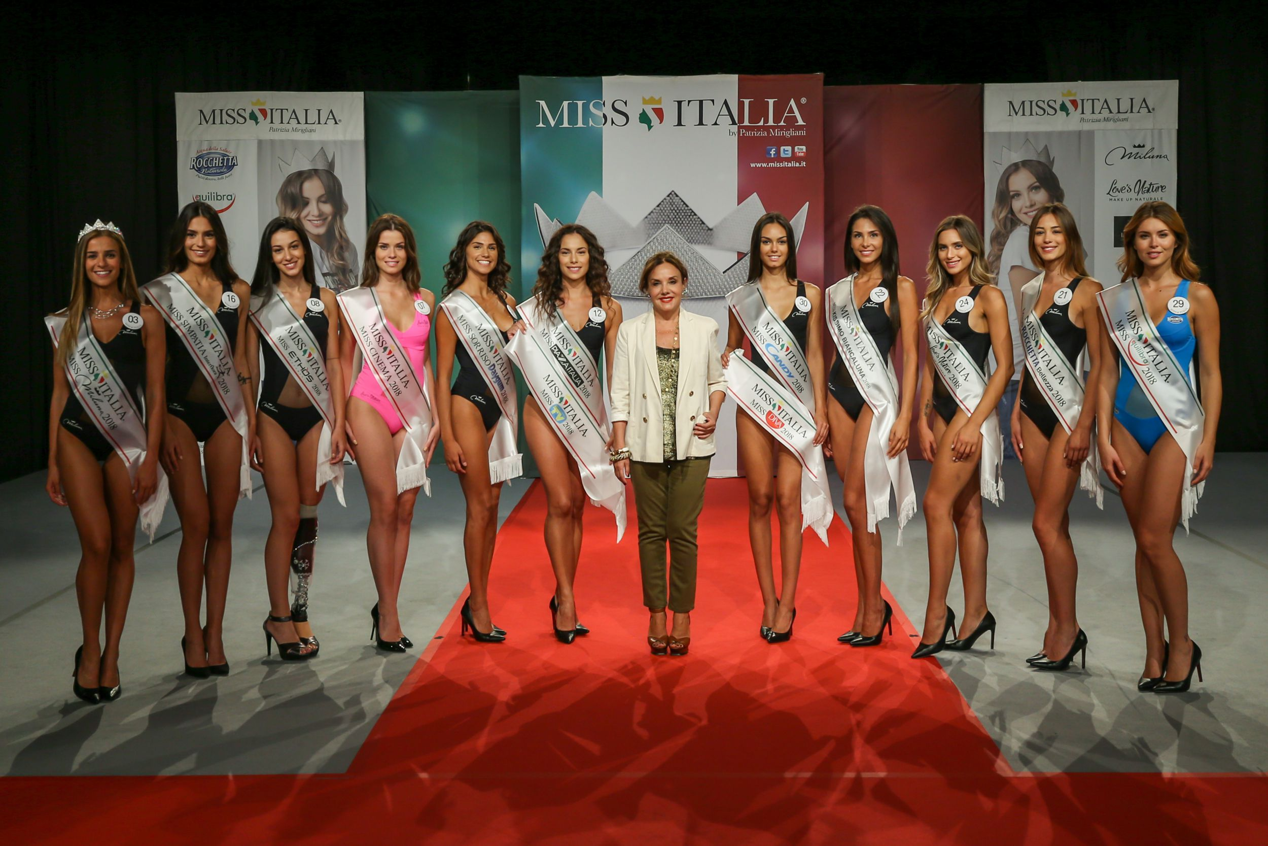 Finaliste Miss Italia 2018