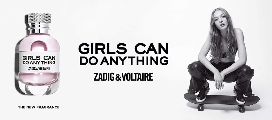 ZADIG&VOLTAIRE GIRLS CAN DO EVERYTHING