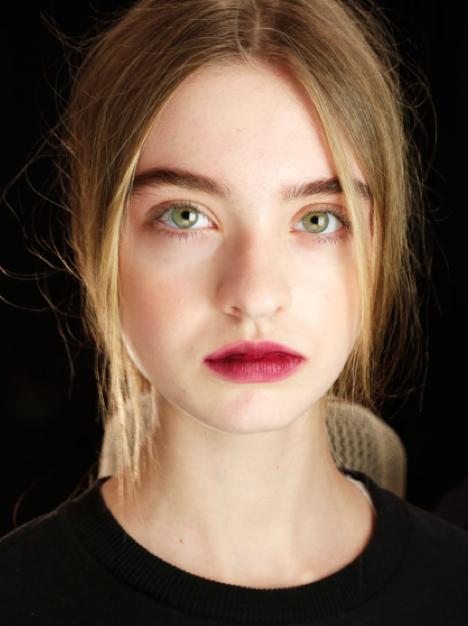 labbra effetto sbiadito