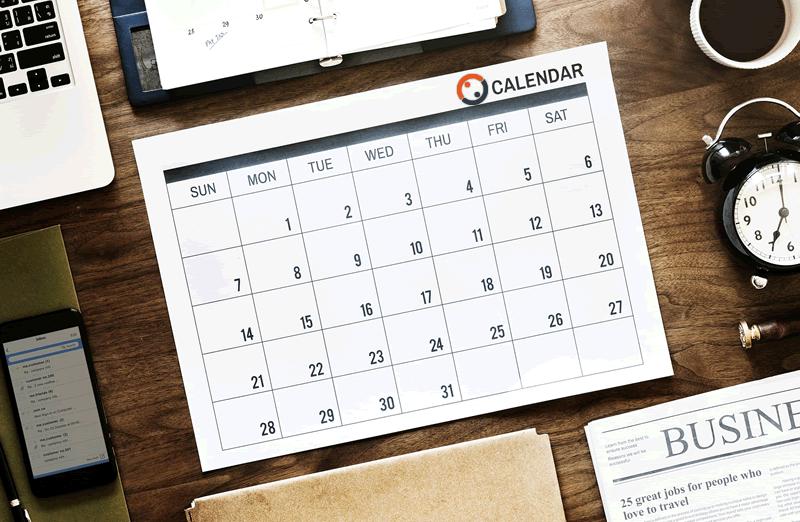 calendario MYREPLY