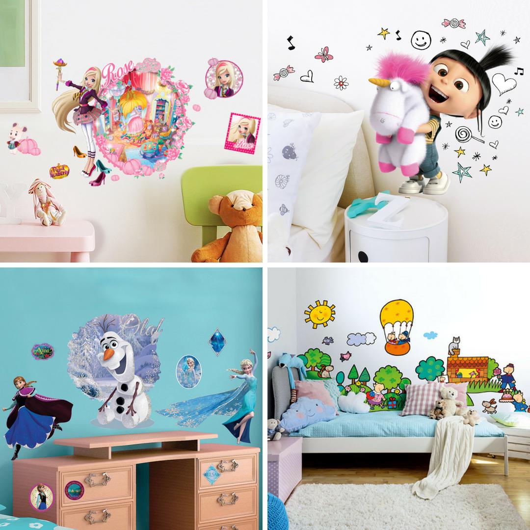 Stickers per camerette bambini elegant adesivi murali per camerette neonati con stickers murali - Adesivi per muro cameretta ...