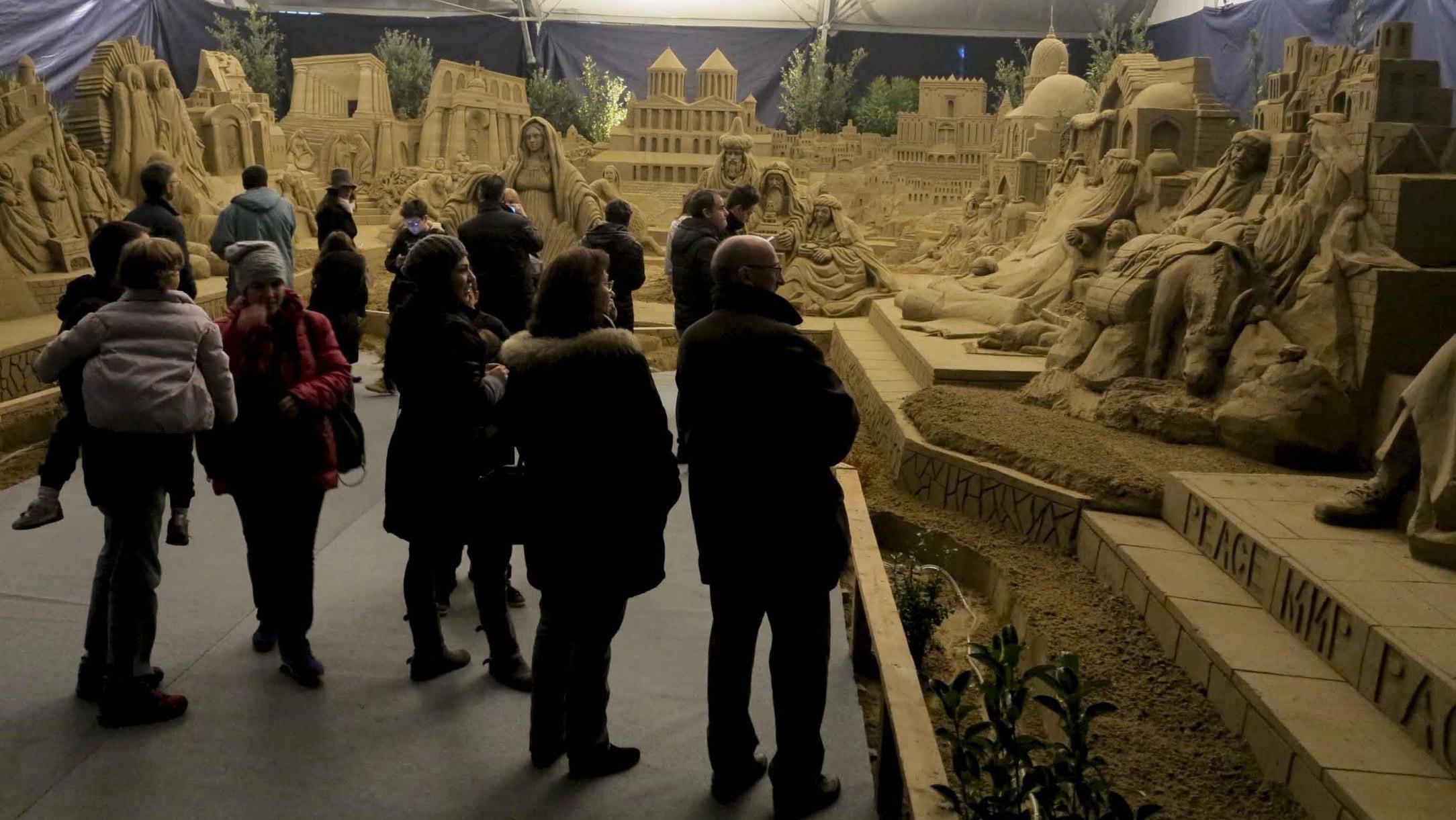 Presepi Di Sabbia Rimini Natale Promozione Alberghiera